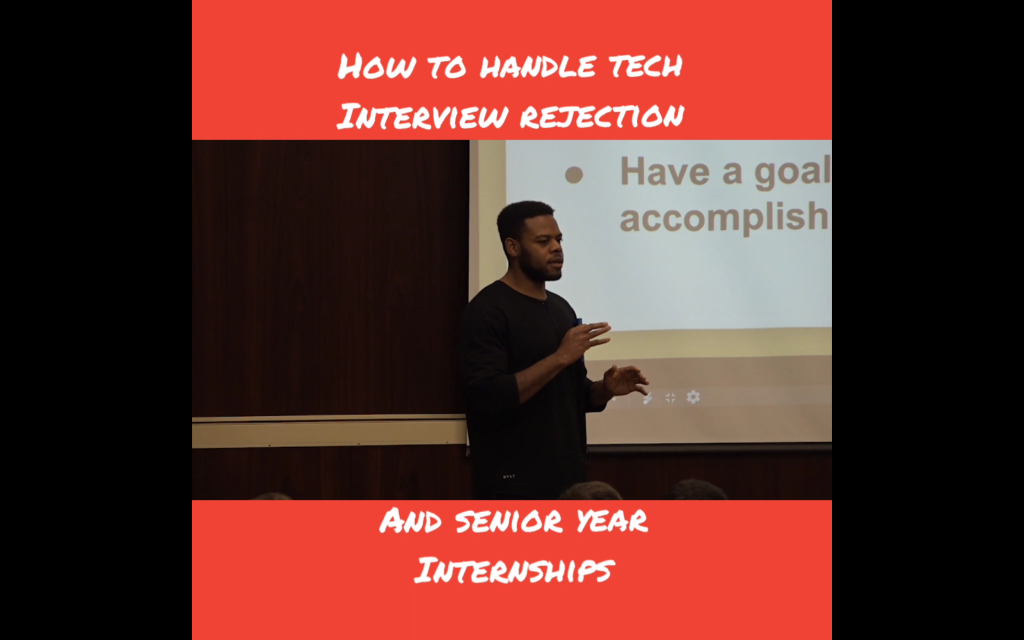 How to handle tech interview rejections