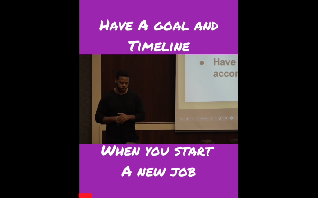 Set Exit Goals And A Timeline